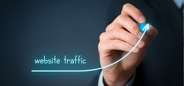 website traffic can be directed to your site from social media
